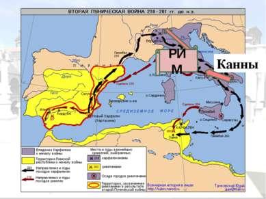 Битва при Каннах 216 г. до н.э. Римляне Карфагеняне 87 тысяч воинов 54 тысячи...