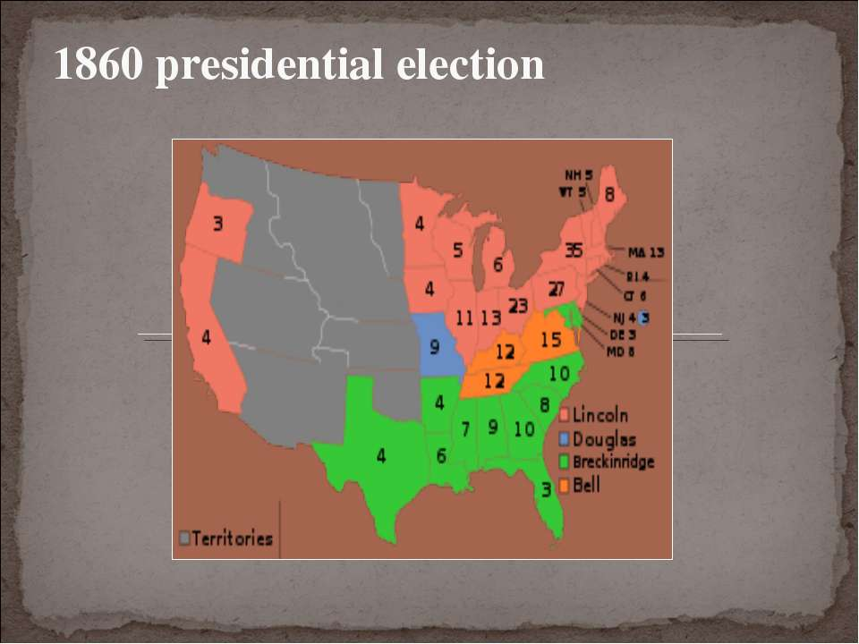 1860 presidential election