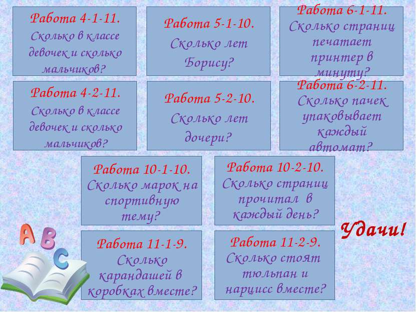 Литература: Кузнецова Л.В., Суворова С.Б., Бунимович Е.А., Колесникова Т.В., ...