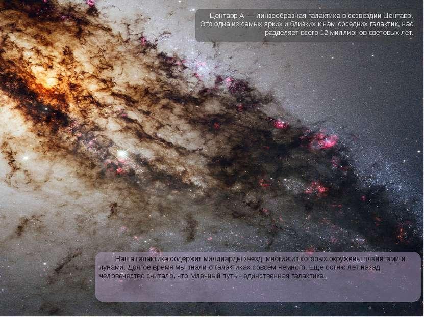 Наша галактика содержит миллиарды звезд, многие из которых окружены планетами...