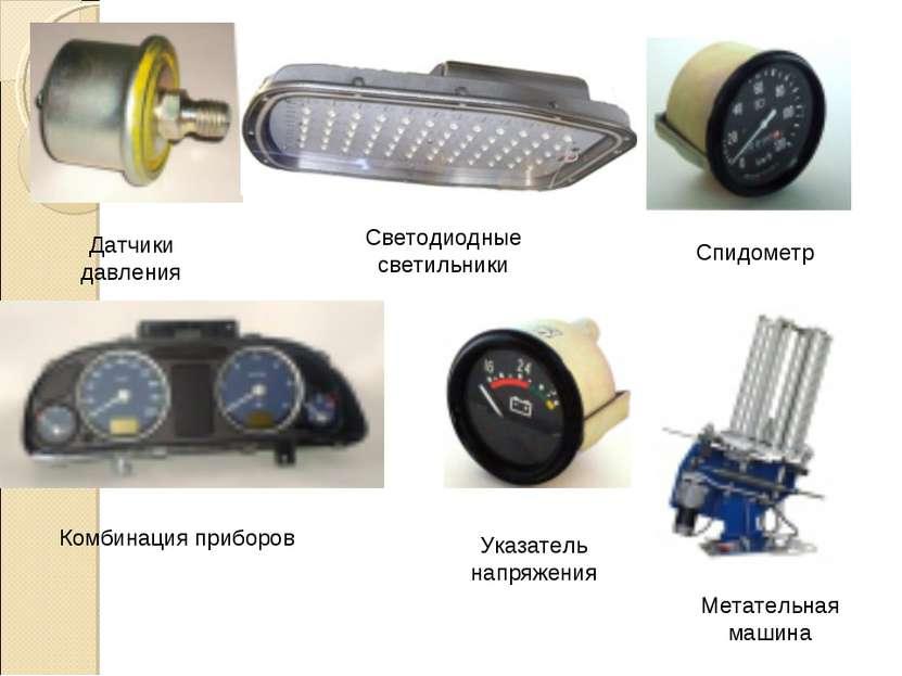 Датчики давления Светодиодные светильники Спидометр Комбинация приборов Метат...
