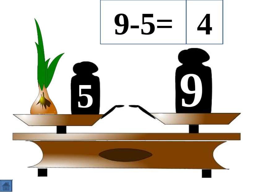 5 9 9-5= 4