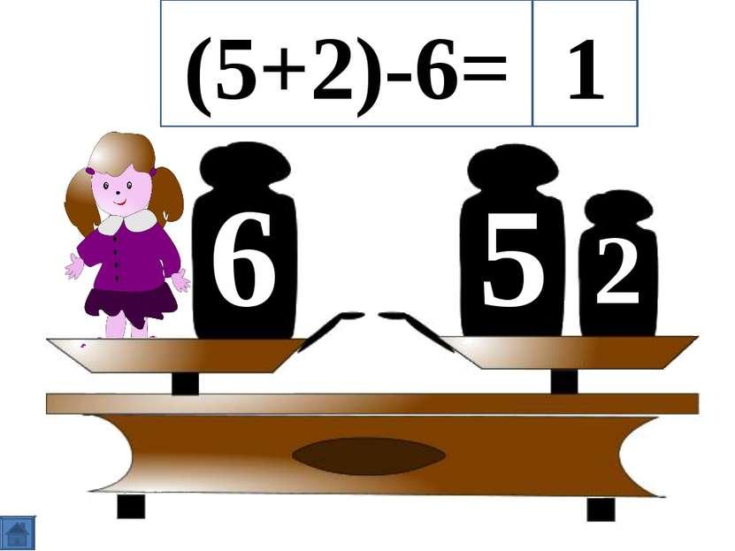 5 6 2 (5+2)-6= 1