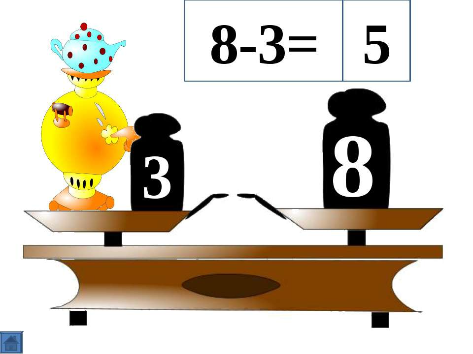 3 8 8-3= 5
