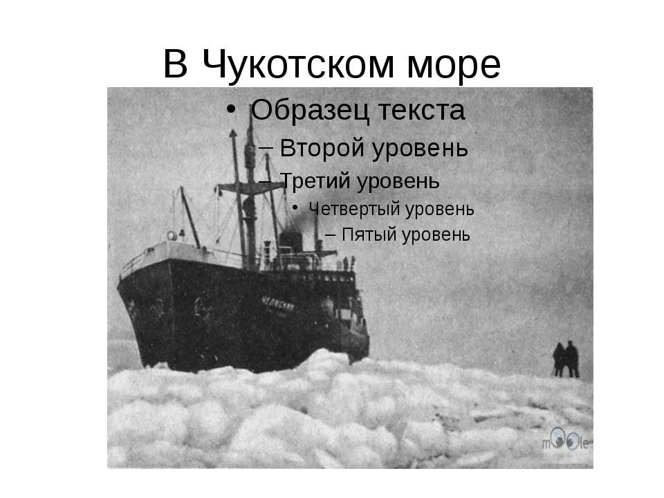 В Чукотском море