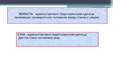 ВОЛОСТЬ - административно-территориальная единица, занимавшая промежуточное п...
