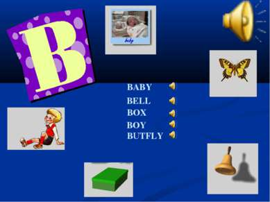 BABY BELL BOX BOY BUTFLY