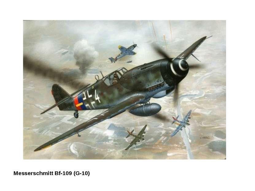 Messerschmitt Bf-109 (G-10)