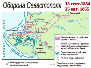 13 сент.1854 25 авг. 1855