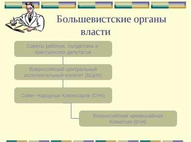 Большевистские органы власти