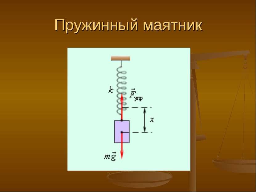 Пружинный маятник