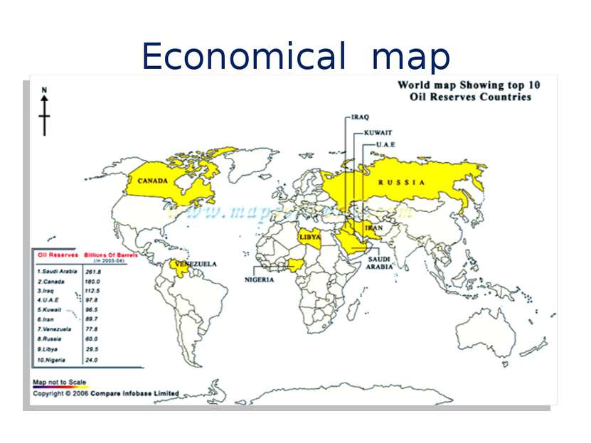 Economical map