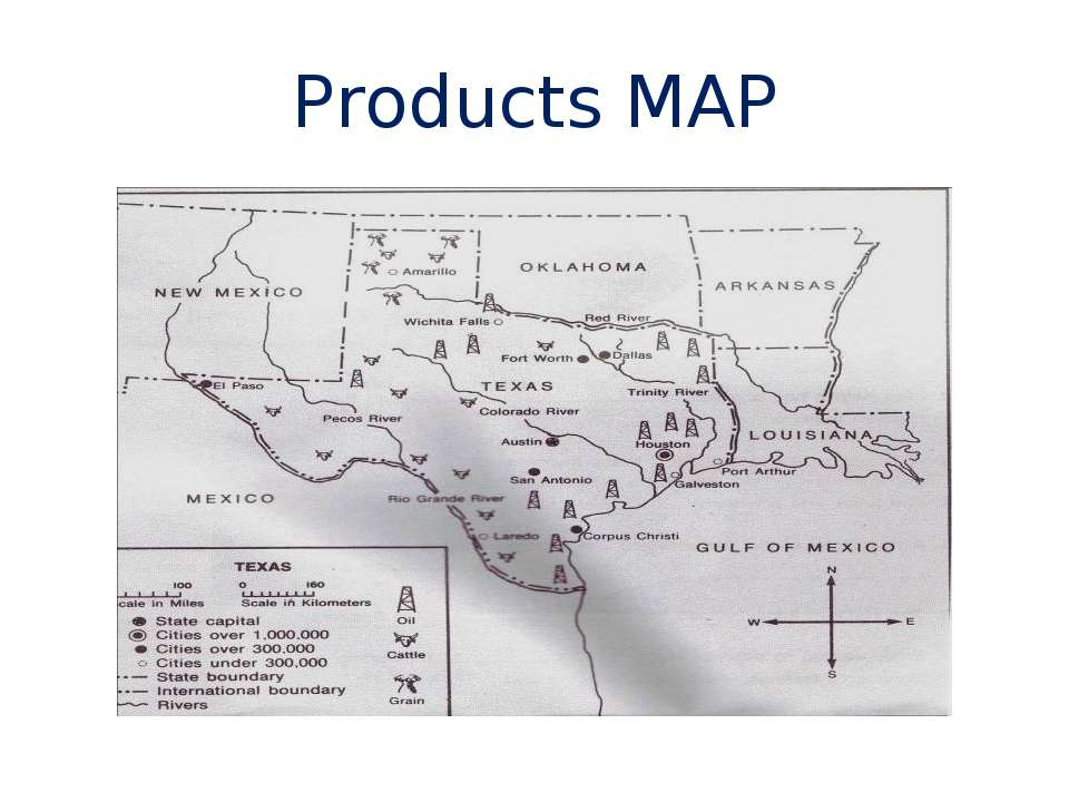 Products MAP