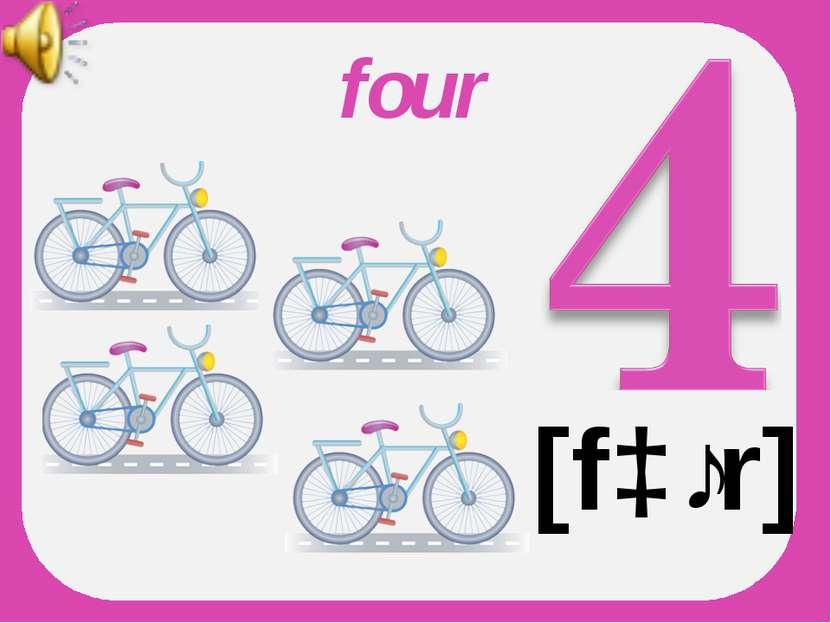 four [fɔːr]