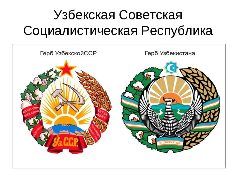 Узбекская Советская Социалистическая Республика