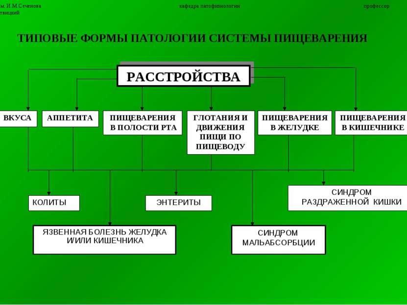 5 ММА им. И.М.Сеченова кафедра патофизиологии профессор П.Ф.Литвицкий