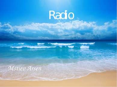 Radio Mstiev Arsen