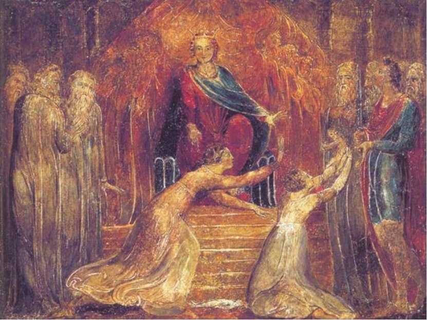 И умер сын этой женщины ночью… И встала она ночью, и взяла сына моего от меня...