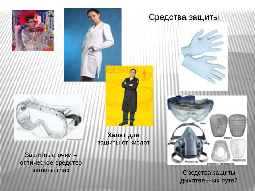 Защитные очки – оптическое средство защиты глаз Средства защиты Средства защи...