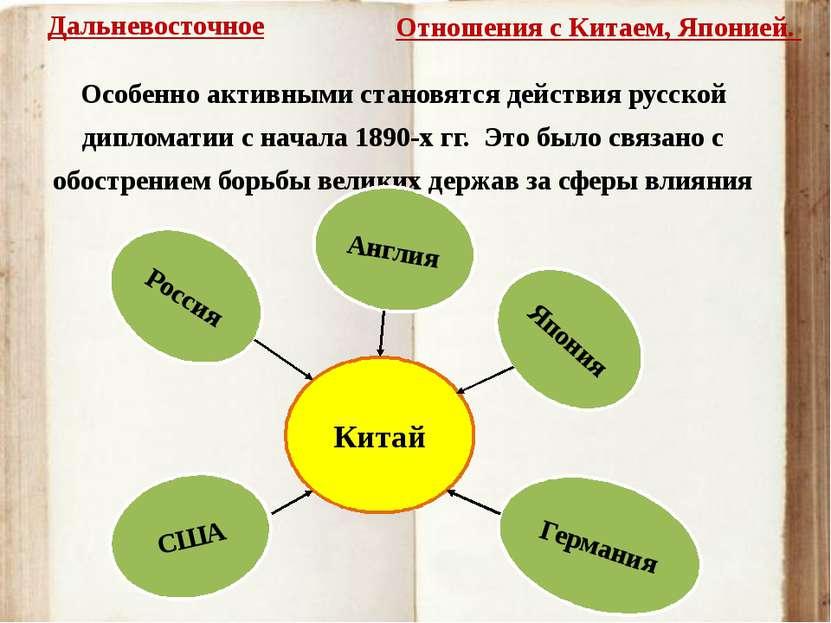 Особенно активными становятся действия русской дипломатии с начала 1890-х гг....