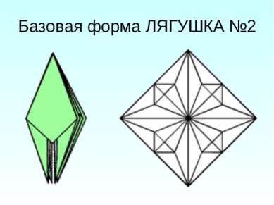 Базовая форма ЛЯГУШКА №2