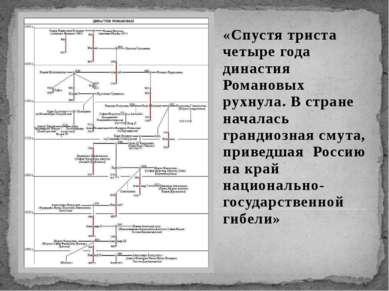 «Спустя триста четыре года династия Романовых рухнула. В стране началась гран...