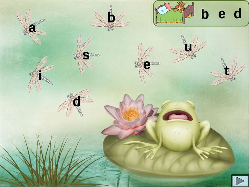 b e d