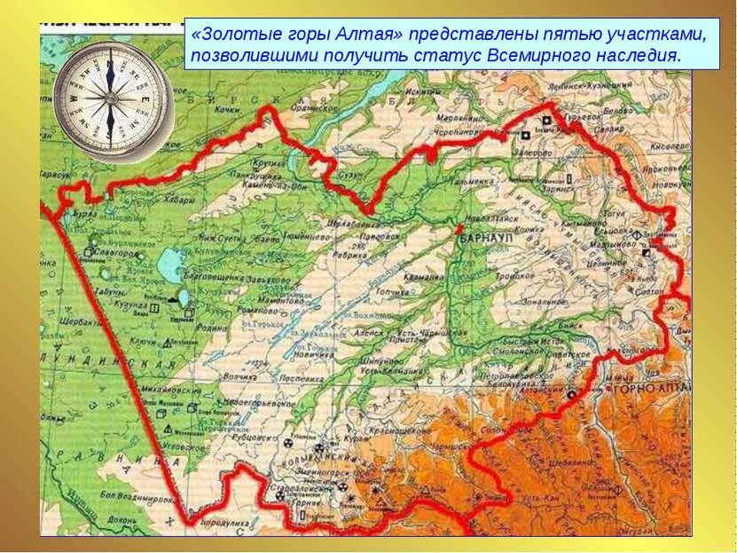 «Золотые горы Алтая» представлены пятью участками, позволившими получить стат...