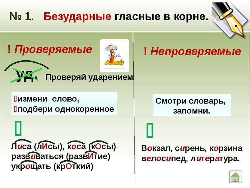 № 7. Правописание безударных гласных в личных окончаниях глаголов. в I спряже...