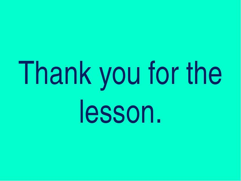 Thank you for the lesson.