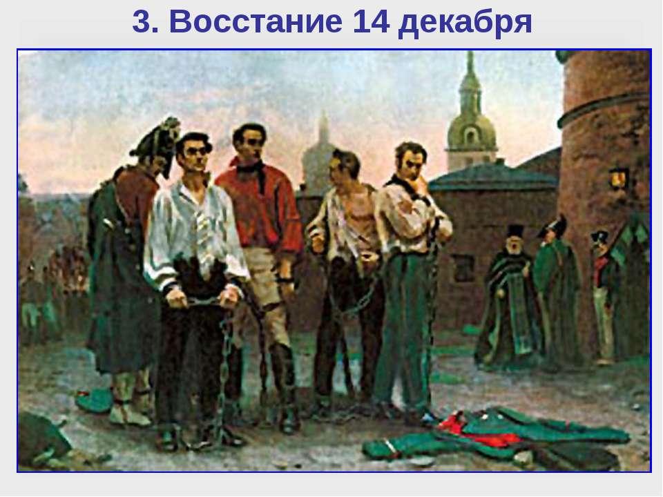 3. Восстание 14 декабря Уже вечером 14 декабря участников восстания стали сво...