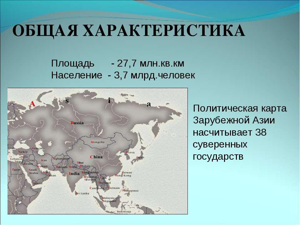 Презентация на тему зарубежная азия 11 класс