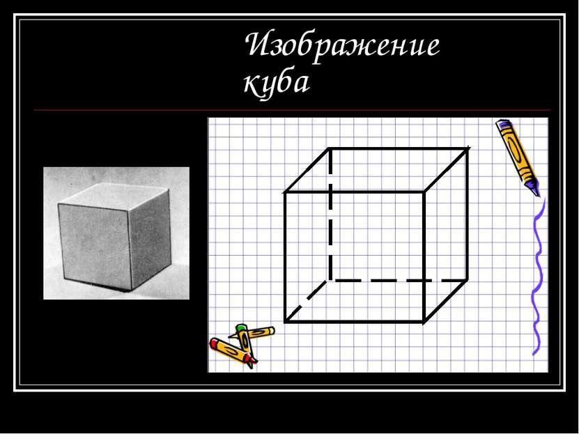 Изображение куба
