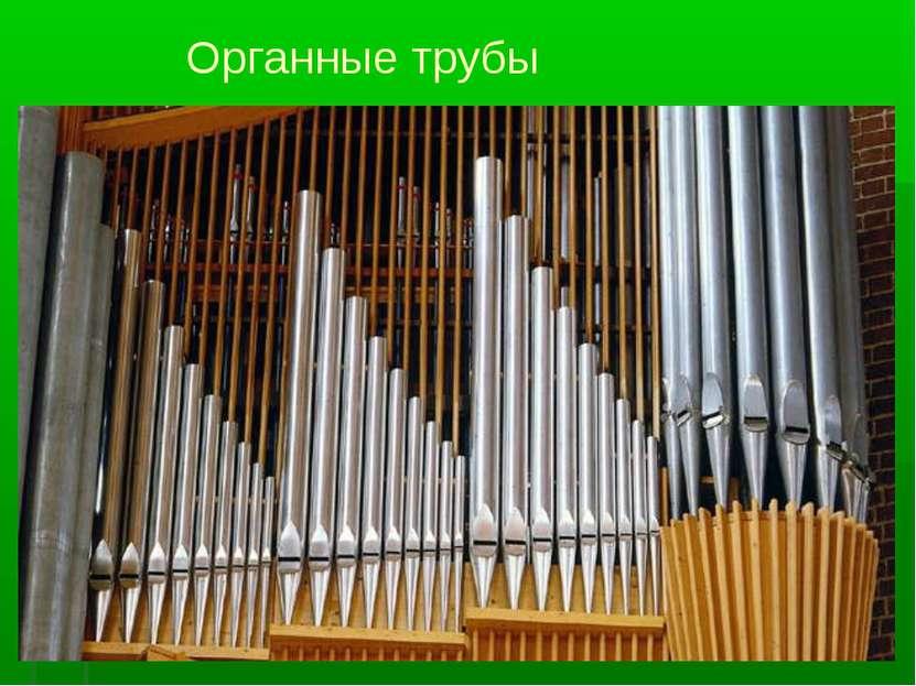 Органные трубы