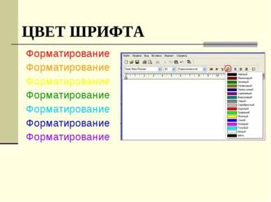 Форматирование Форматирование Форматирование Форматирование Форматирование Фо...