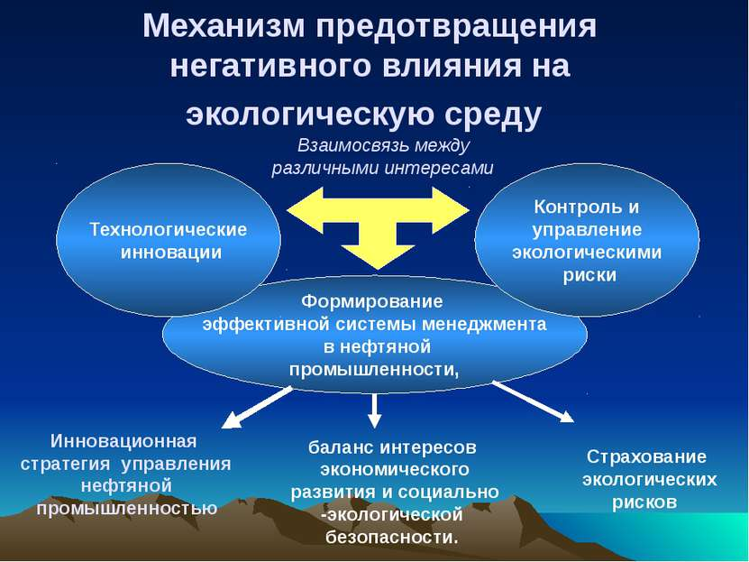 Страхование экологических рисков баланс интересов экономического развития и с...