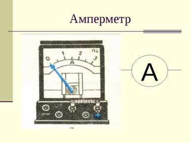Амперметр А