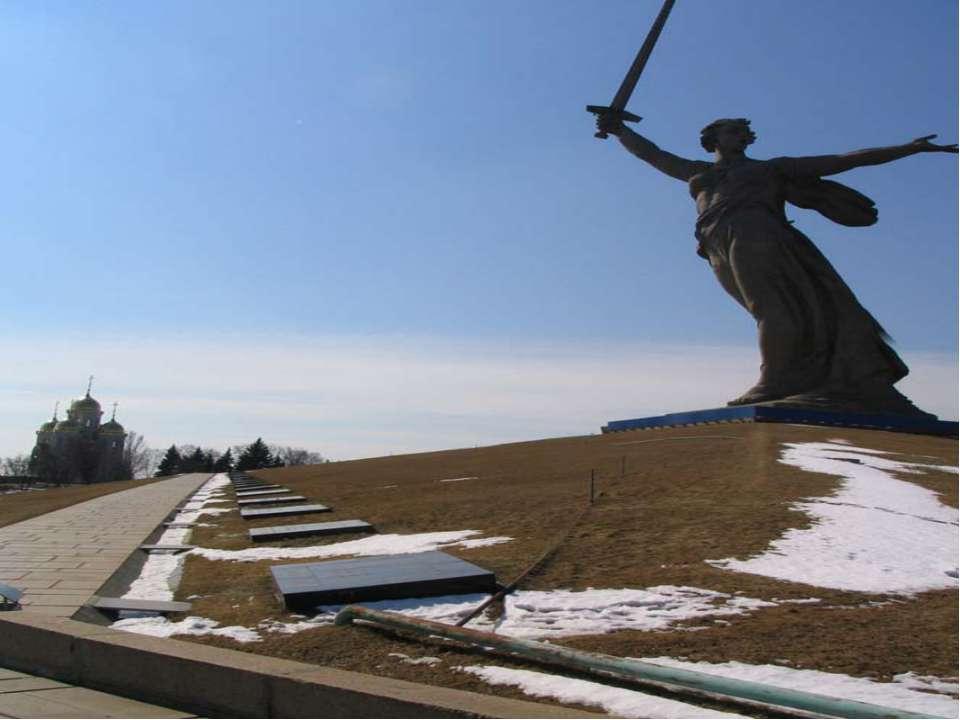 Мамаев Курган Все знаю данное место как «главная высота России». Во время Ста...