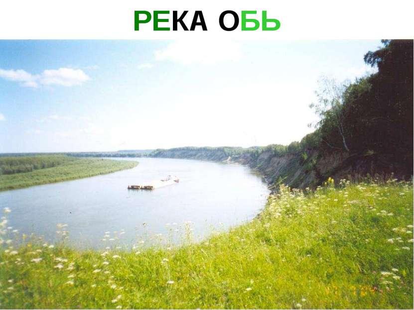 РЕКА ОБЬ Река обь