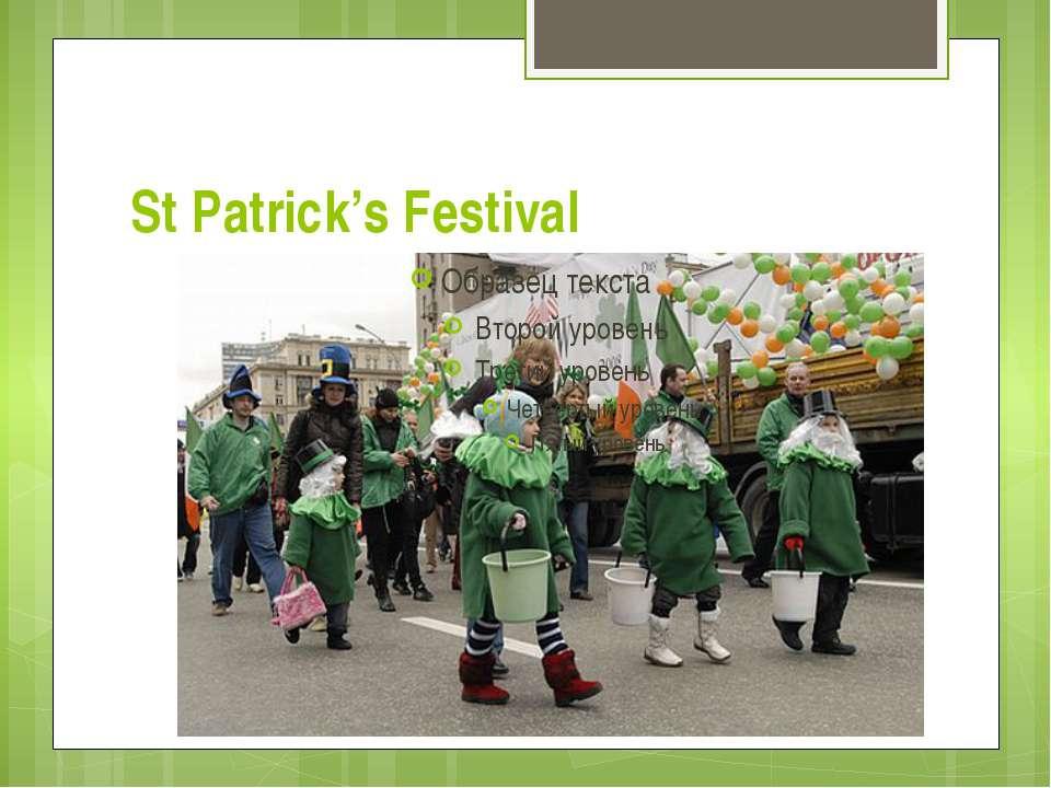 St Patrick's Festival