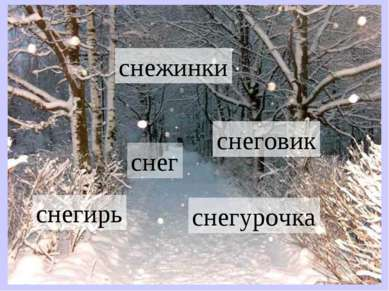 снег снегурочка снежинки снеговик снегирь