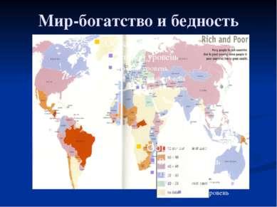Глава 2. Экономика домохозяйства 13. Благосостояние Мир-богатство и бедность