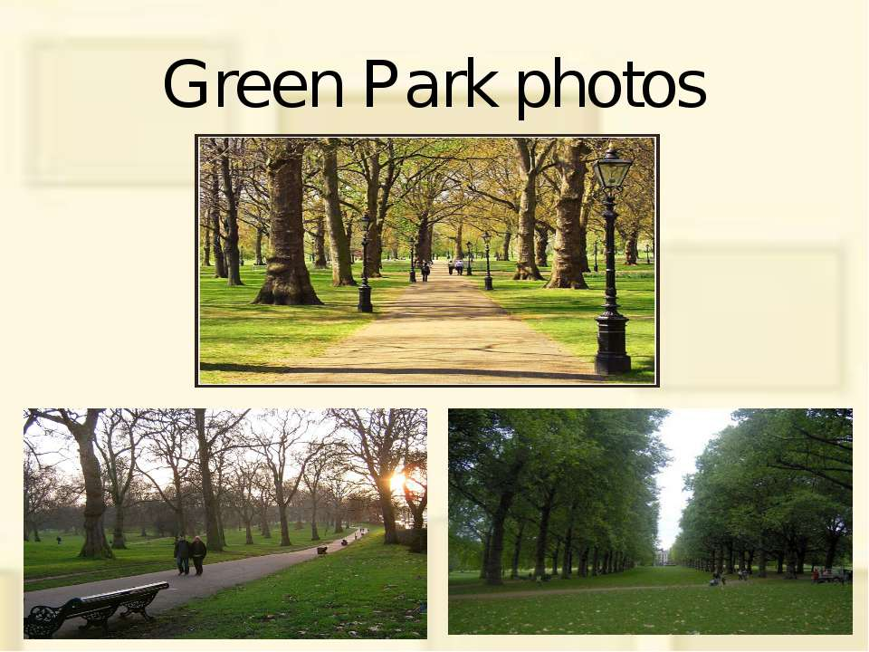 Green Park photos