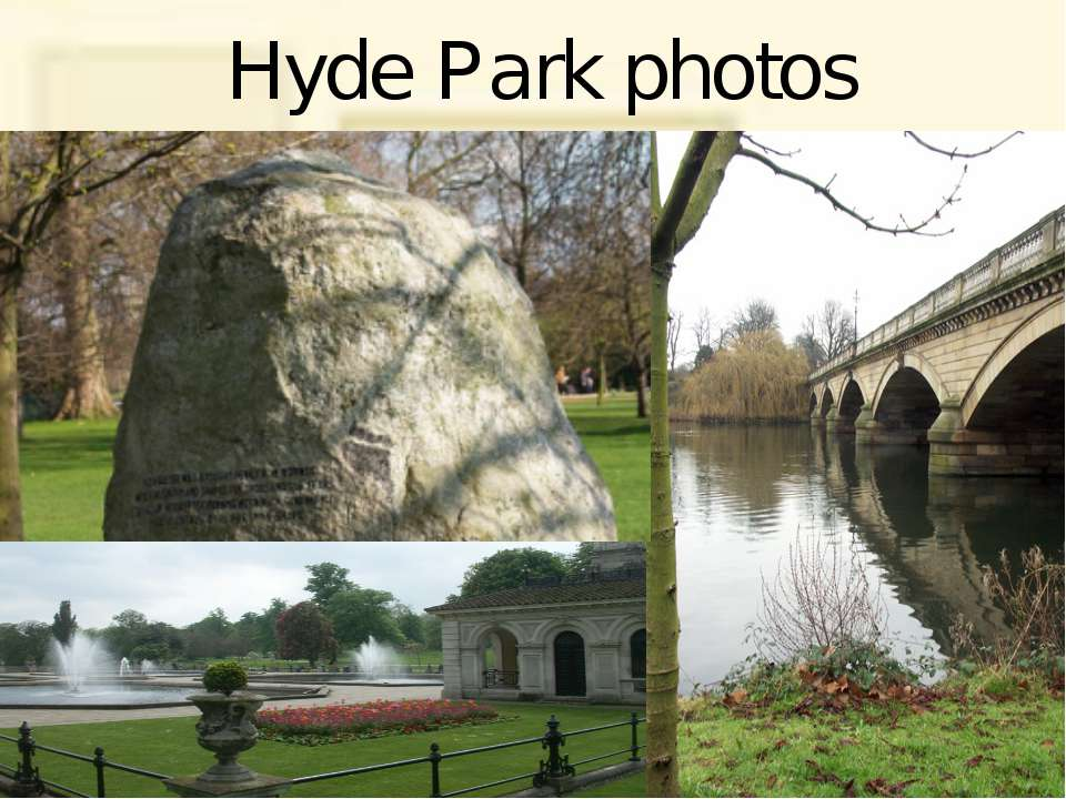 Hyde Park photos