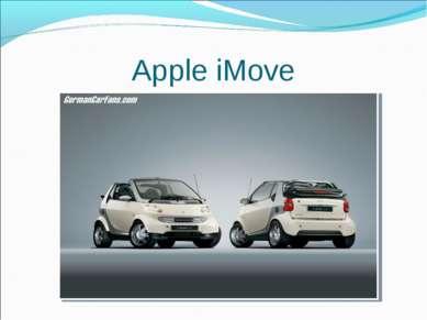 Apple iMove