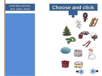 Click blue picture and open word oose and click house snow smoke raven scarf ...