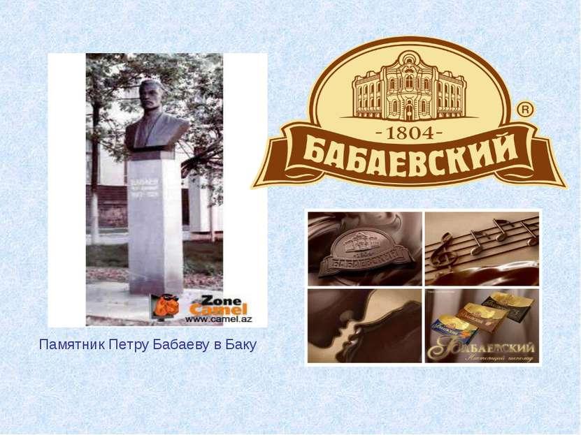 Памятник Петру Бабаеву в Баку