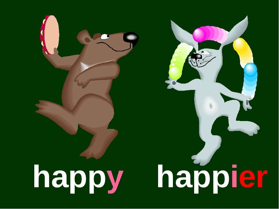 happy happier