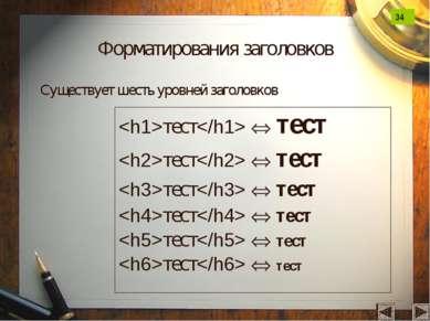 Форматирования заголовков тест тест тест тест тест тест тест тест тест тест т...