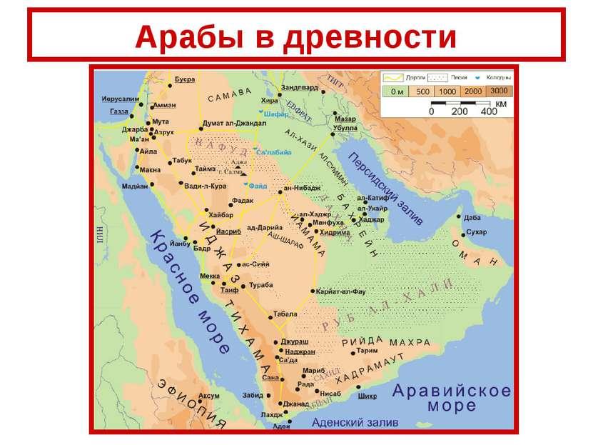 Арабы в древности